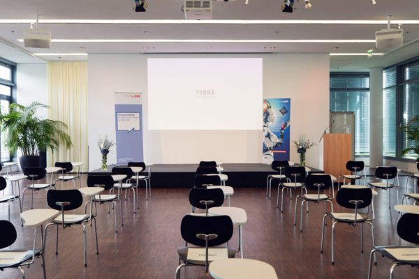 hybrid events in our spacious and air-conditioned indoor area